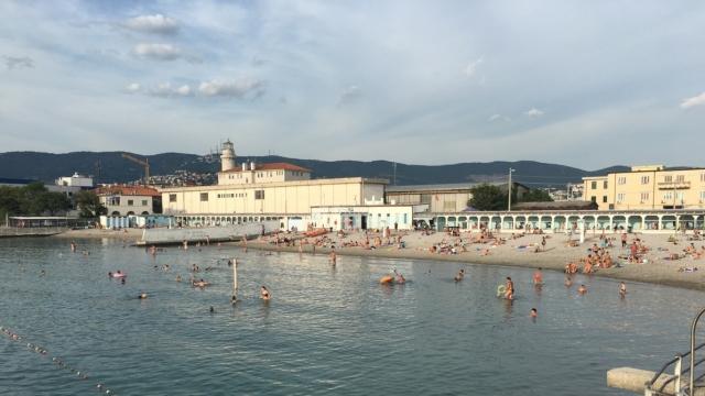 Historical Trieste Beach