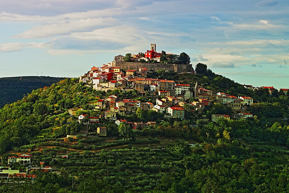 Motovun View, one of the best palce to stay in Croatia for Couples