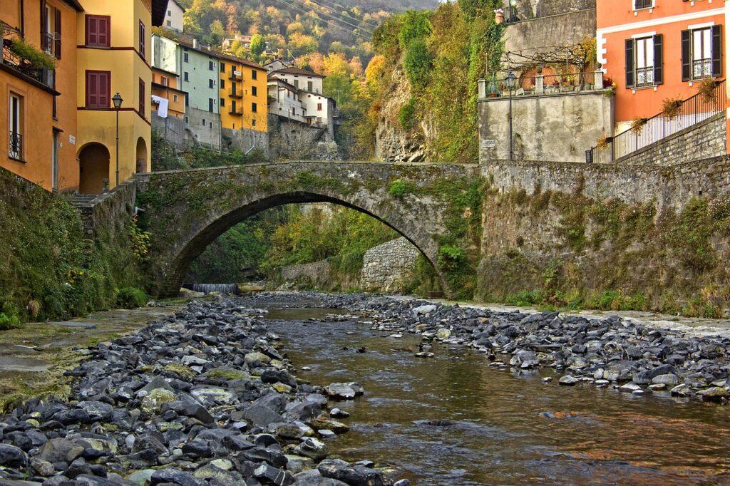 Argegno on Lake Como