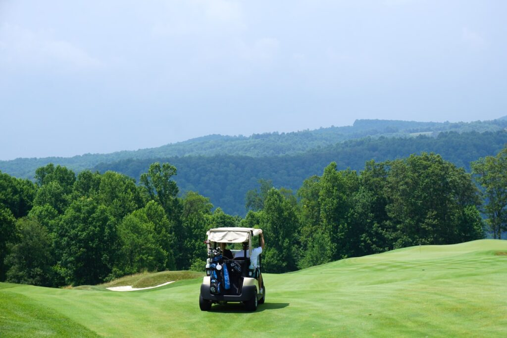 Golf Course near Ljubljana