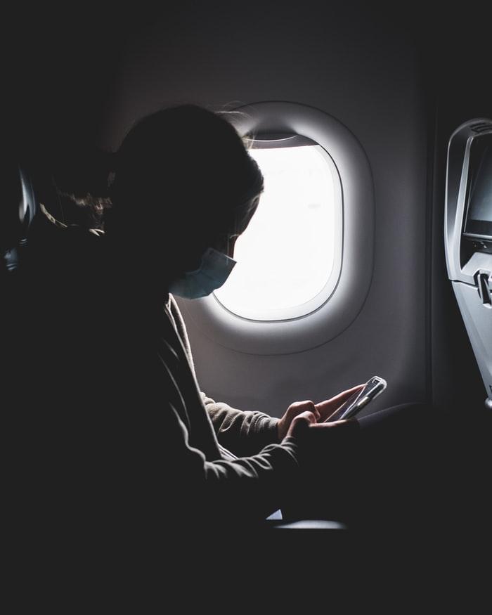 Wearing Mask On Plane