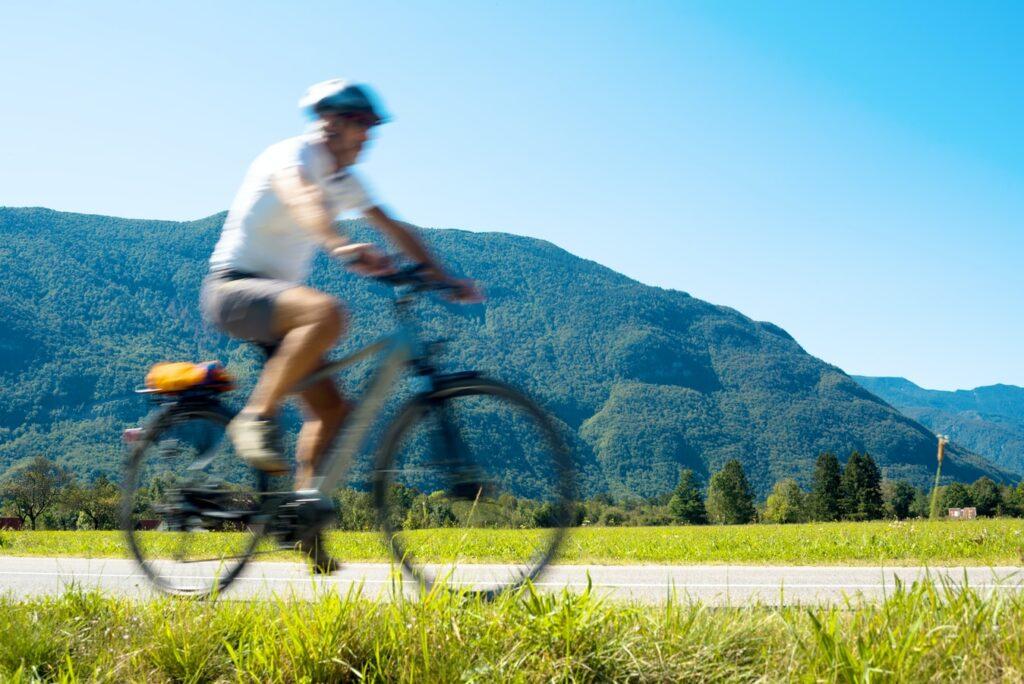 Kranjska Gora in summer cycling