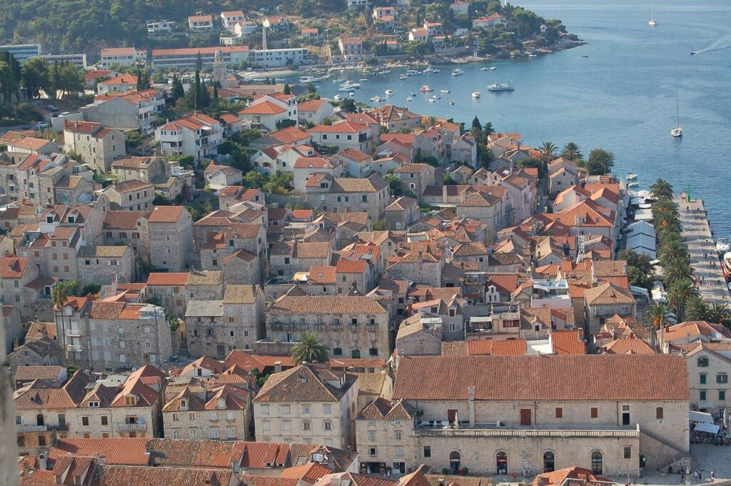 Hvar is one of the prettiest places in Croatia