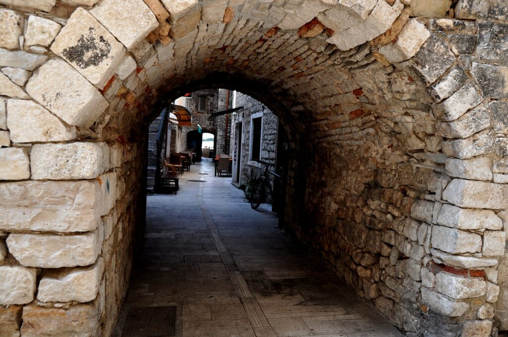 The Pretty Old Town of Trogir