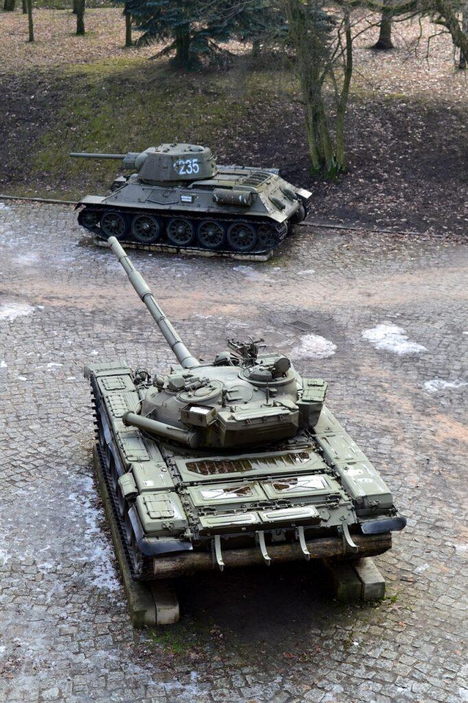 Tank Museum Citadel Park Poznan