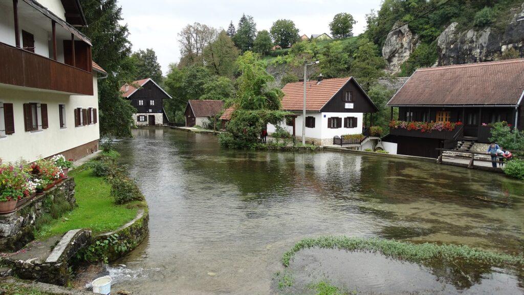 Rastoke Village