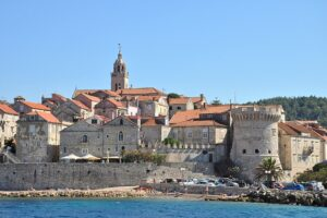 Korcula Old Town View