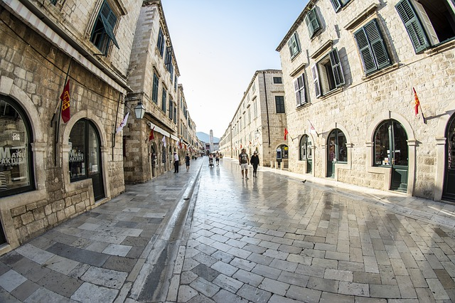Dubrovnik in Rain