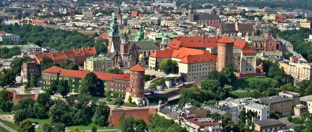 The Famous Wawel in Krakow