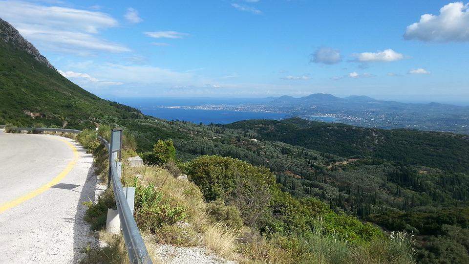 Corfu Mountain Driving