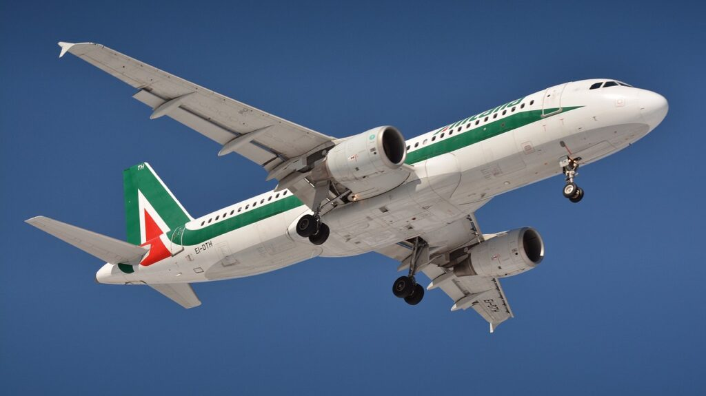 Alitalia Airplane