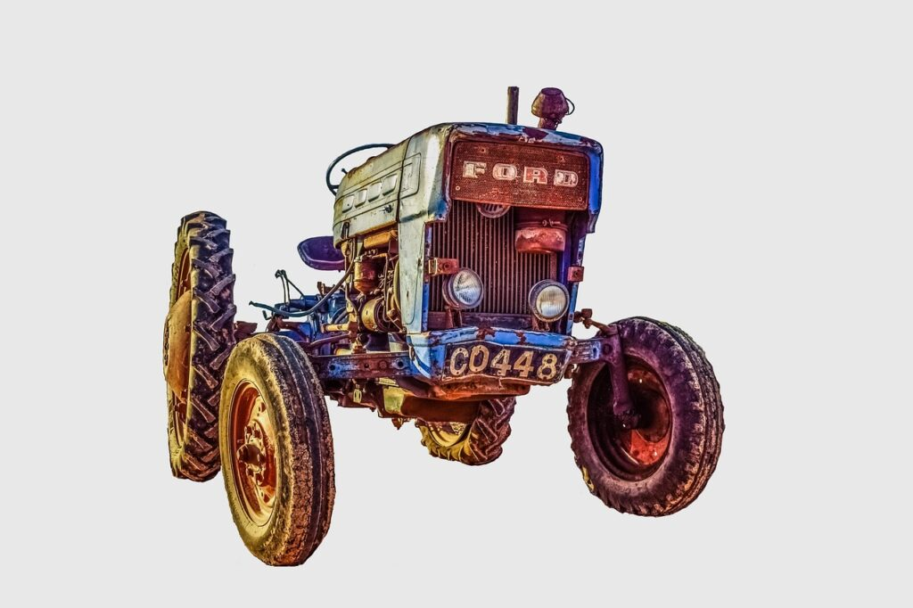 Things to do in Prague with Kids Tractor