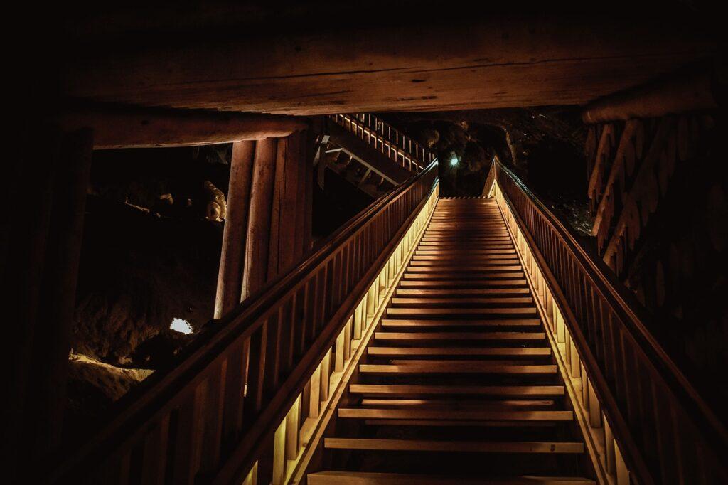 Salt Mine Stairs