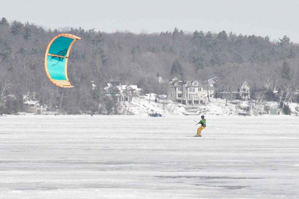 Winter Kiting