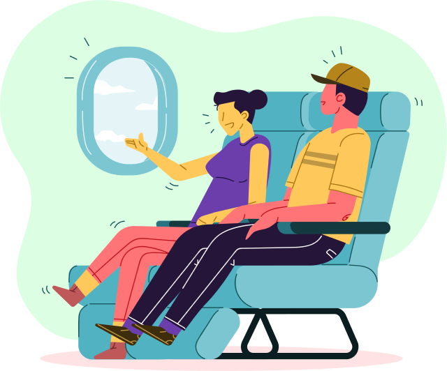 Flying Illustration