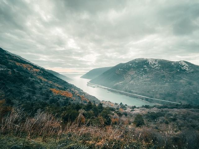 Croatia Winter Landscape