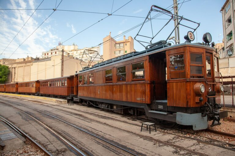 Historical Train From Palma to Soller