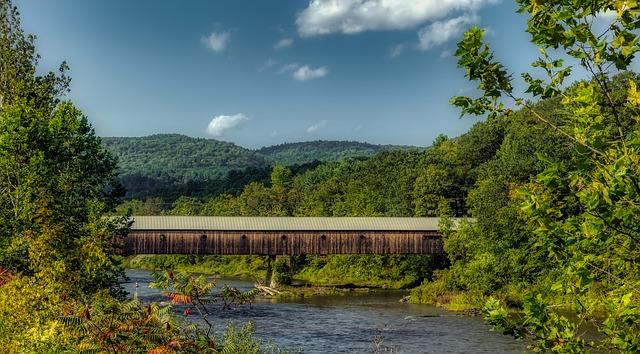 Vermont Old Bridge