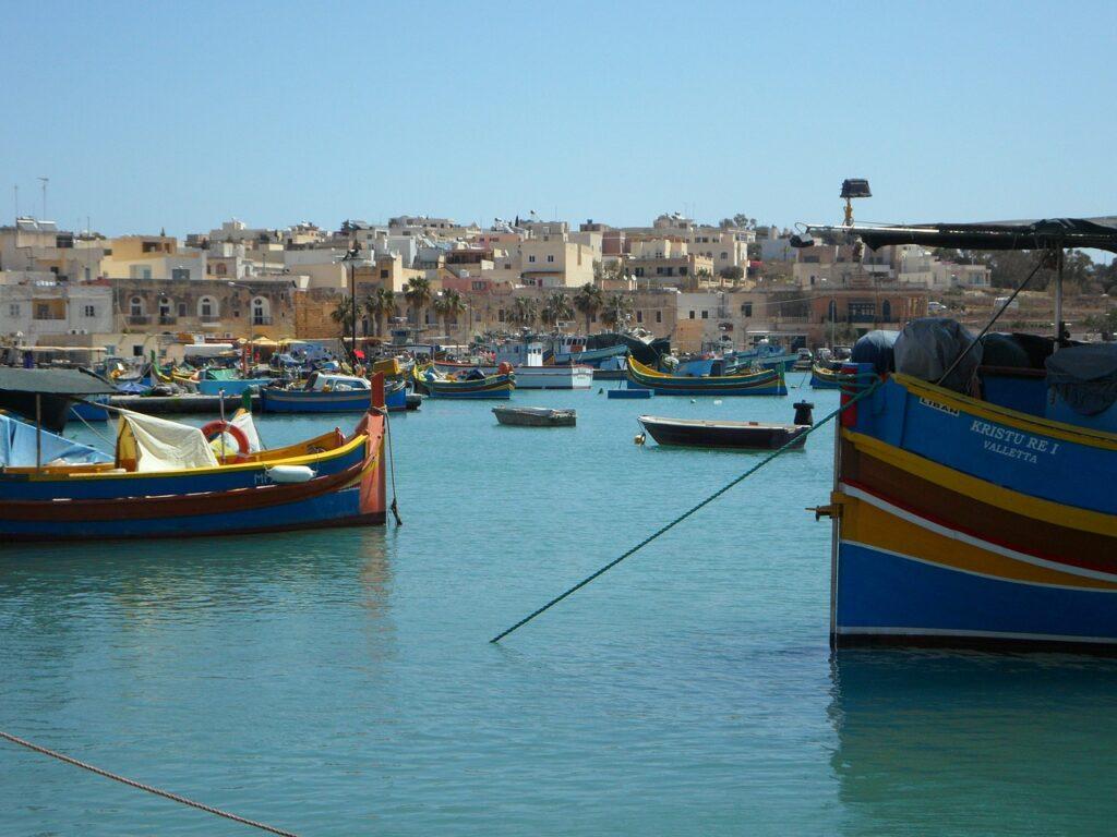 Malta from the sea