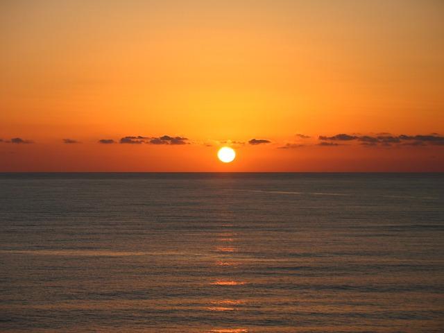 Sicily Beach Sunset