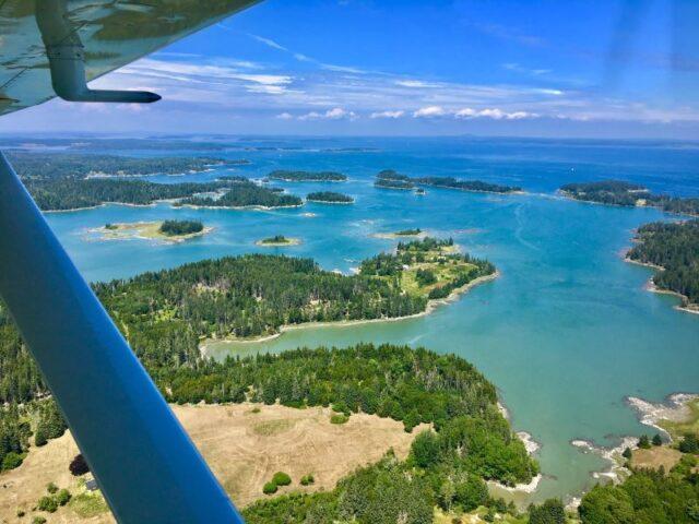 Flightseeing Maine