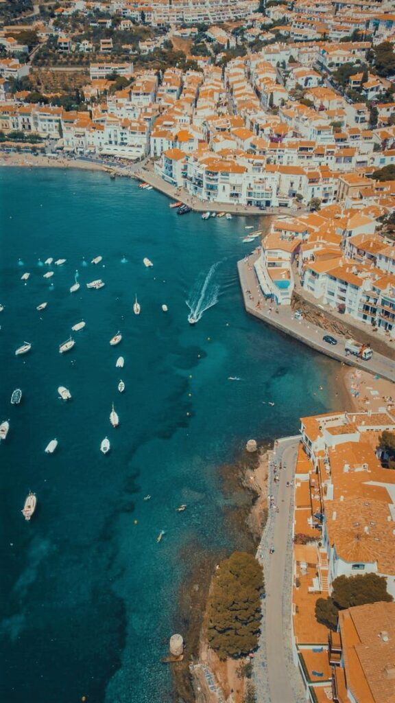 Cadaques Bay with Ships