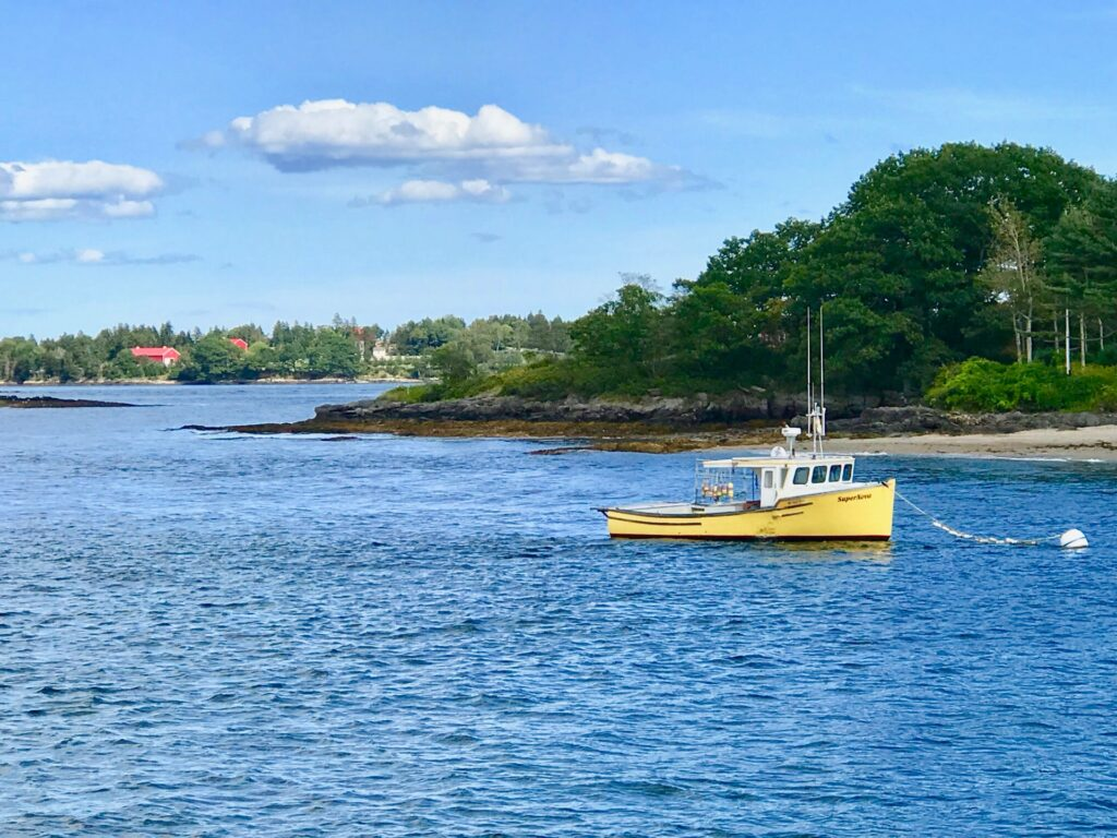 Ship in Maine