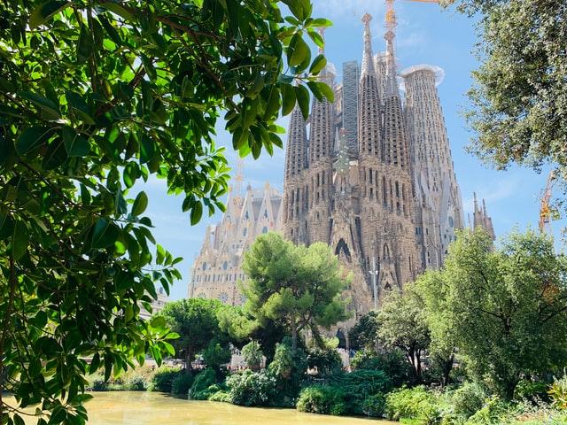 Sagrada Familia Beautiful View